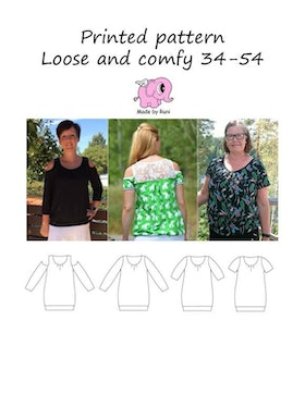 Made by Runi´s Loose and comfy dam, stl 34-54