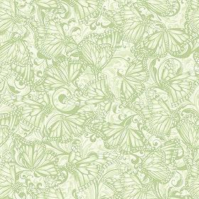Hydrangea Butterfly Tonal Green