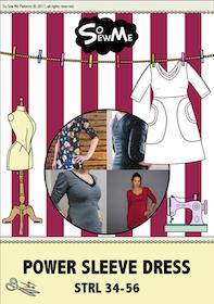 So Sew Me´s Power Sleeve Dress stl. 34 - 56