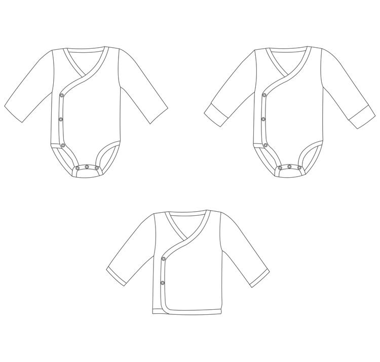 So Sew Me´s Wrap Me Up stl. 44 - 110
