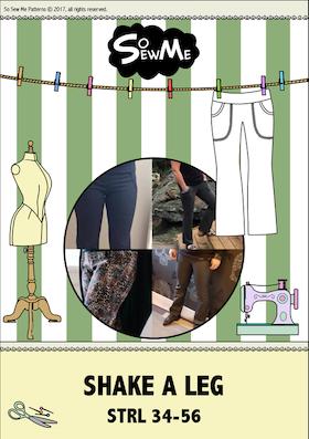 So Sew Me´s Shake a leg stl. 34 - 56