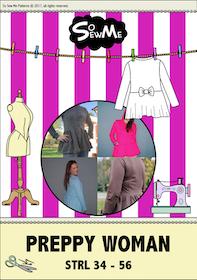 So Sew Me´s  Preppy Woman stl. 34 - 56