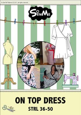 So Sew Me´s On Top Dress stl. 34 - 56