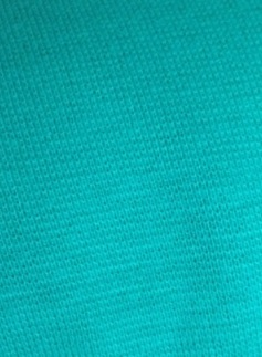 Stark mintgrön rundstickad