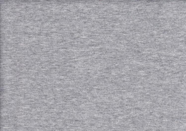 Ljusgrå melerad rundstickad
