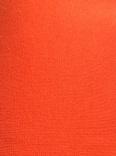 Orange rundstickad