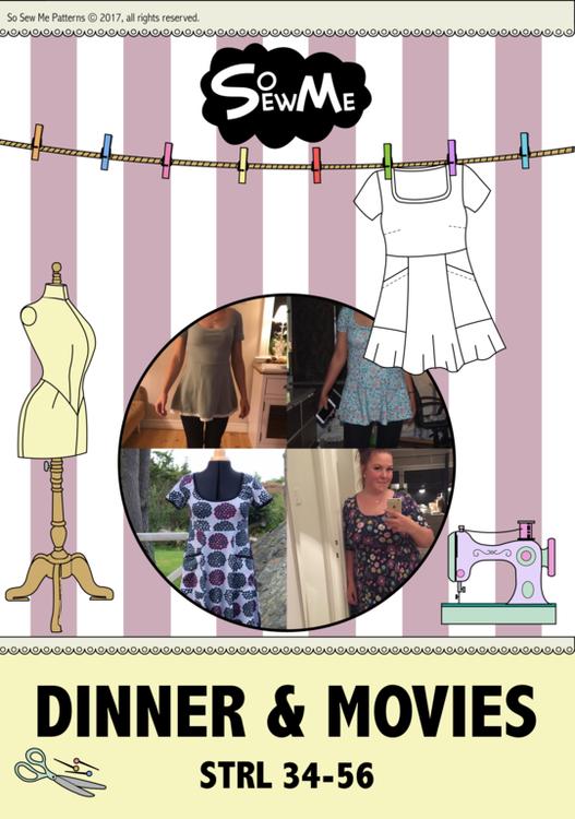 So Sew Me´s Dinner & Movies stl. 34 - 56