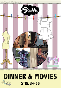 So Sew Me´s Dinner & Movies stl. 34 - 56