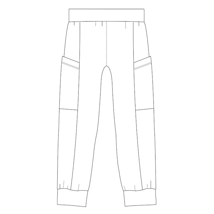 So Sew Me's Easy Peasy Pants stl. XXS - XXXL
