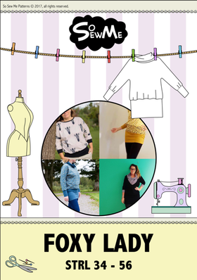 So Sew Me´s Foxy Lady stl. 34 - 56