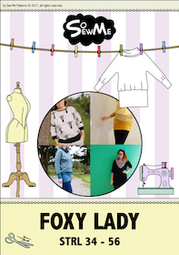 So Sew Me's Foxy Lady stl. 34 - 56