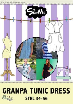 So Sew Me´s Grandpa Tunic Dress stl. 34 - 56