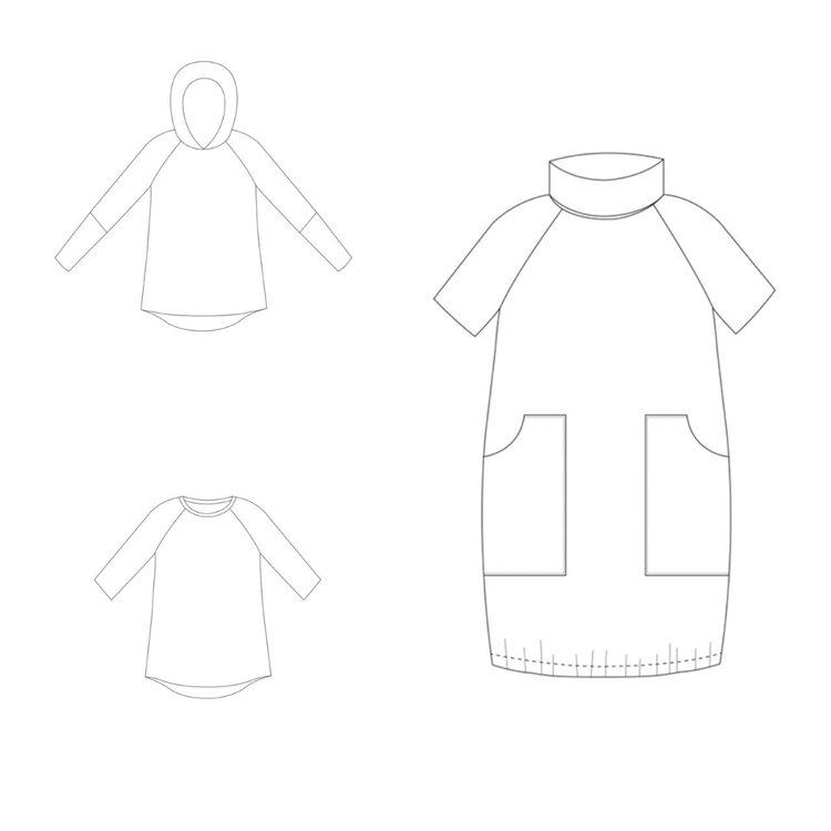 So Sew Me's Little Leauge stl. 62 - 164