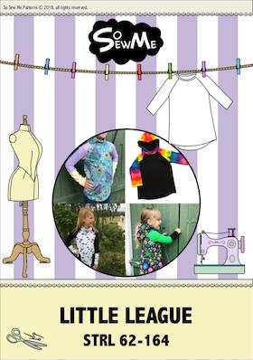 So Sew Me´s Little Leauge stl. 62 - 164