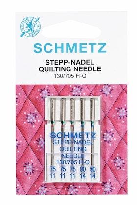 Schmetz symaskinsnålar Quilting 75/11 //90/14 (130/705 H-Q)
