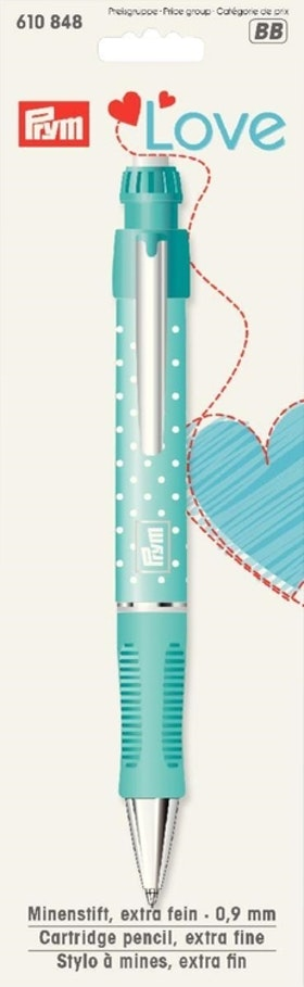 Prym Love Stiftpenna 0,9 mm inkl. vita markeringsstift