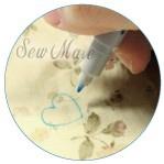 Sew Mate Märkpenna blå 0,8 mm