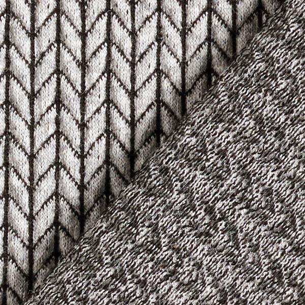 Big knit Grå / Svart by Hamburger Liebe Jaquard