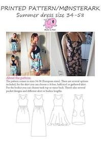 Made by Runi´s Summer dress dam, stl. 34 - 54