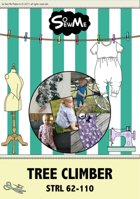 So Sew Me´s Tree Climber stl. 62 - 110