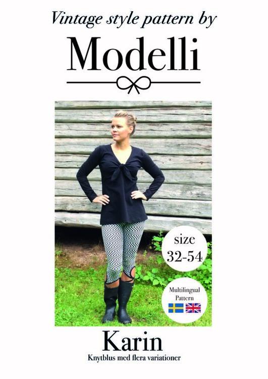 Modelli's Knytblus Karin