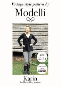 Modelli's Knytblus Karin stl. 32 - 54