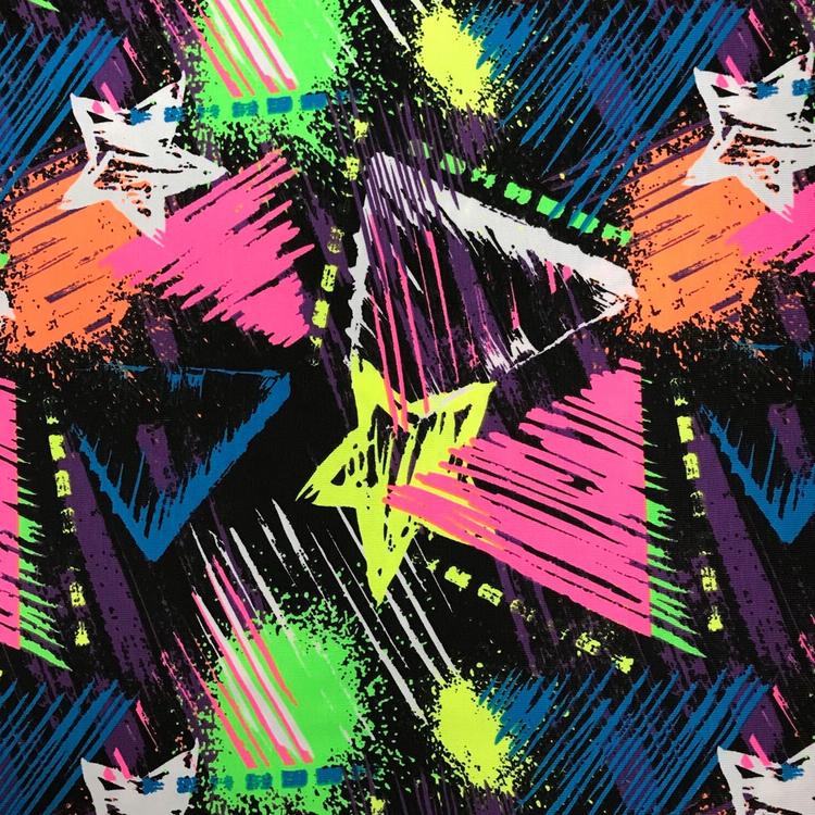 Neon Stars & Triangle