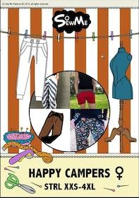 So Sew Me´s  Happy Campers stl. XXS -  4XL