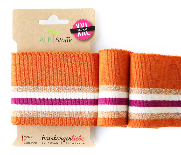 Hamburger Liebe's Cuff Me Check point Orange XXL