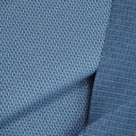 Big knit Blue by Hamburger Liebe Jaquard