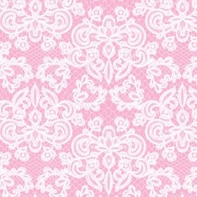 Spets med rosa bakgrund