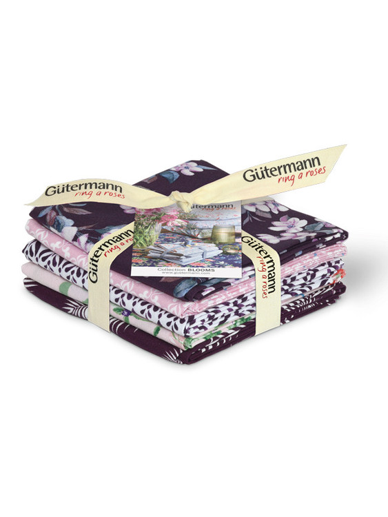 Gütermann Ring a Roses Blooms Fat Quarter packe