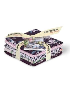 Gütermann Ring a Roses Blooms Fat Quarter packe