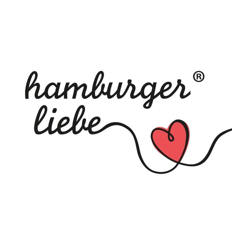 Hamburger Liebe Safari XXL Jaquard Rosa/röd