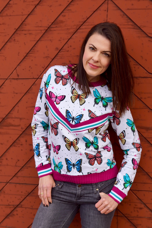 Butterfly by Hamburger Liebe Vit Jersey