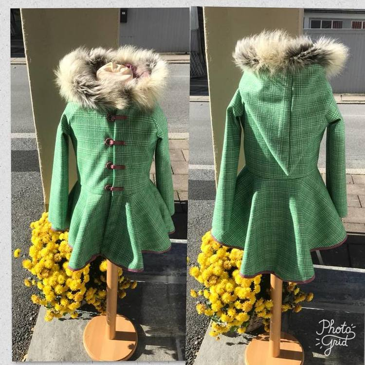 Made by Runi´s Fairytale Hoodie barn, stl. 80 - 164