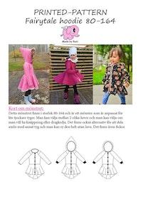 Made by Runi´s Fairytale Hoodie barn, stl. 80 - 164