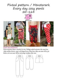 Made by Runi´s Every day cozy pants barn stl. 50 - 164