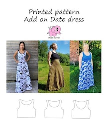 Made by Runi´s Add on till Date dress, stl. 34-58