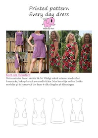 Made by Runi´s Every day dress dam, stl. 34 - 54