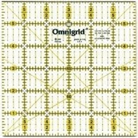 "(Prym) Omnigrid Quilting linjal 6"" x 6"""