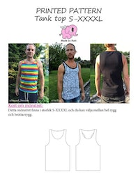 Made by Runi´s Tank top herr, stl. S-XXXXL