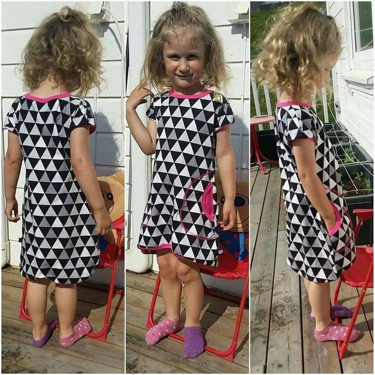 Made by Runi´s Every day dress barn stl. 80-164