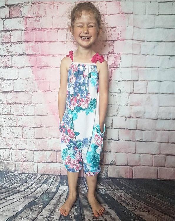 Made by Runi´s Summer romper/dress barn, stl. 62 - 164