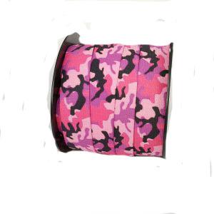 Rosa kamouflage resår 30 mm bred
