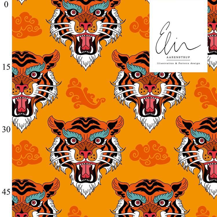 Tiger orange (leverans i augusti)