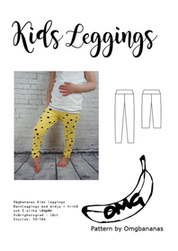 OMG Bananas Kids Leggings storlek 50 - 164