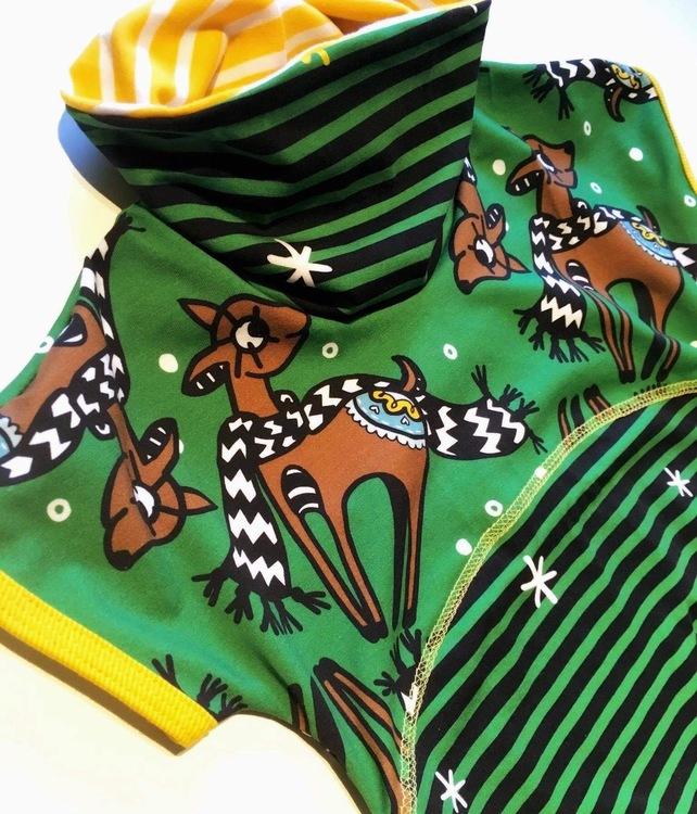 Deer X-mas green