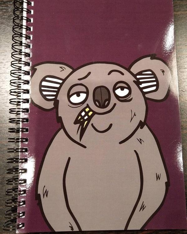 Anteckningsbok Koala Autumnpurple