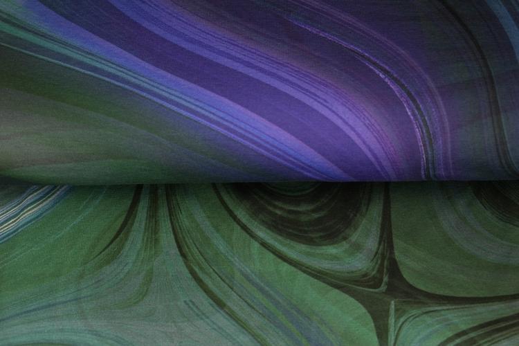 Flytande blå panel